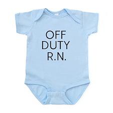 Off Duty RN Onesie