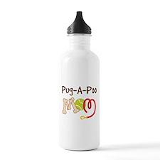 Pug-A-Poo Dog Mom Water Bottle