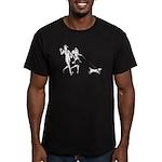 Nick & Nora Men's Fitted T-Shirt (dark)