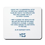 Yes Scotland Mousepad