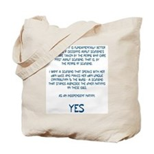 Yes Scotland Tote Bag