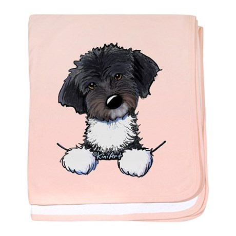 Pocket Havanese baby blanket