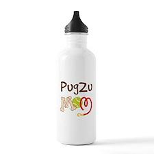 PugZu Dog Mom Water Bottle