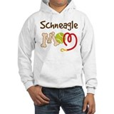 Schneagle Dog Mom Jumper Hoody