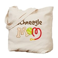 Schneagle Dog Mom Tote Bag