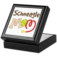 Schneagle Dog Mom Keepsake Box