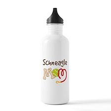 Schneagle Dog Mom Water Bottle