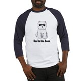 Bad to the Bone Westie! Baseball Jersey