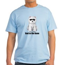 Bad to the Bone Westie! T-Shirt