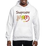 Sheprador Dog Mom Hooded Sweatshirt