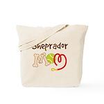 Sheprador Dog Mom Tote Bag