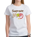 Sheprador Dog Mom Women's T-Shirt