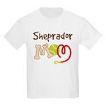 Sheprador Dog Mom Kids Light T-Shirt