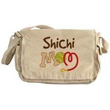 Shichi Dog Mom Messenger Bag