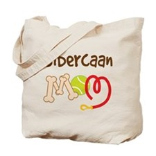 Sibercaan Dog Mom Tote Bag