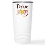 Torkie Dog Mom Ceramic Travel Mug