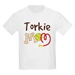 Torkie Dog Mom Kids Light T-Shirt