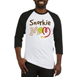 Snorkie Dog Mom Baseball Jersey