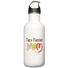 Taco Terrier Dog Mom Water Bottle