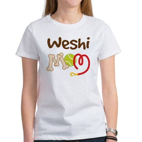 Weshi Dog Mom Women's T-Shirt