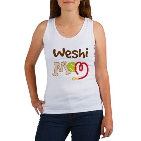 Weshi Dog Mom Women's Tank Top