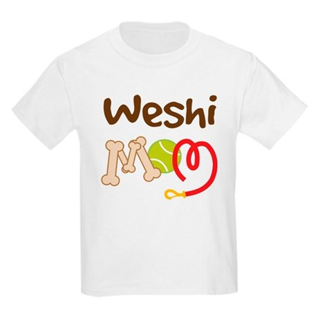 Weshi Dog Mom Kids Light T-Shirt