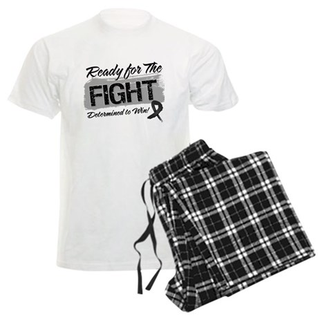 Ready Fight Melanoma Men's Light Pajamas