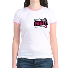 Ready Fight Multiple Myeloma Jr. Ringer T-Shirt