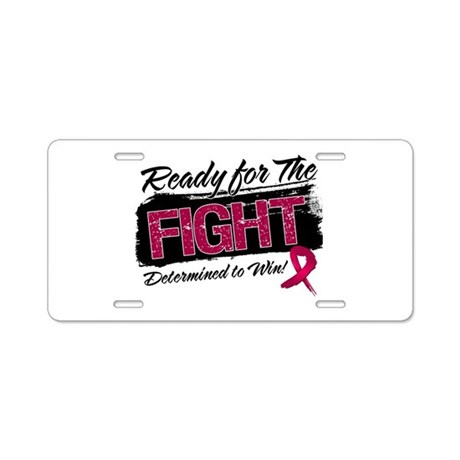 Ready Fight Multiple Myeloma Aluminum License Plat