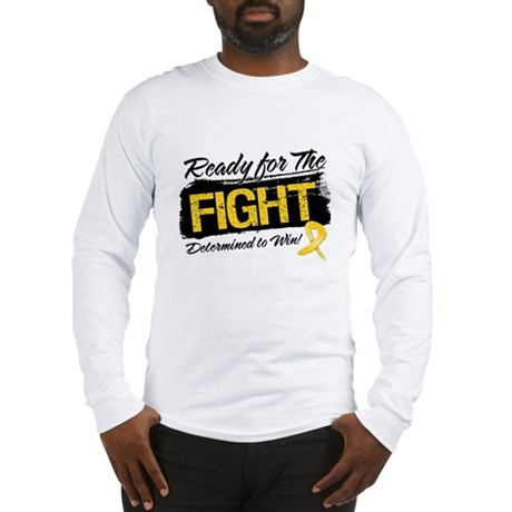 Ready Fight Neuroblastoma Long Sleeve T-Shirt