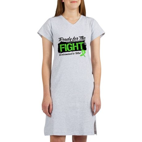 Ready Fight Non-Hodgkins Women's Nightshirt