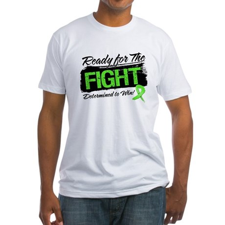Ready Fight Non-Hodgkins Fitted T-Shirt