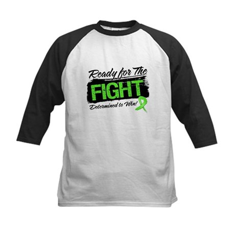 Ready Fight Non-Hodgkins Kids Baseball Jersey