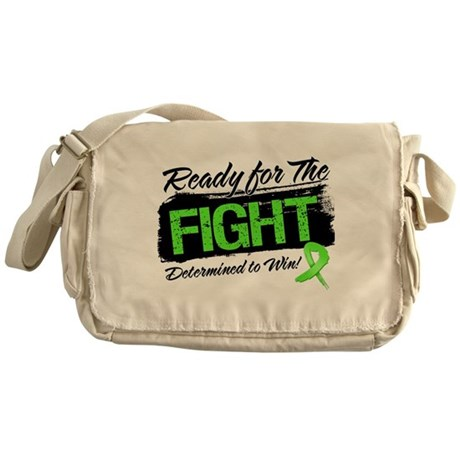 Ready Fight Non-Hodgkins Messenger Bag