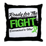 Ready Fight Non-Hodgkins Throw Pillow