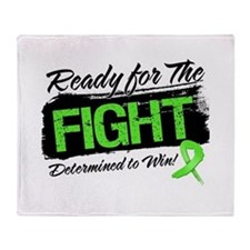 Ready Fight Non-Hodgkins Throw Blanket