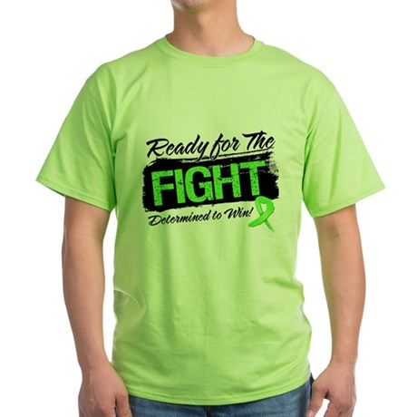 Ready Fight Non-Hodgkins Green T-Shirt