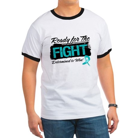 Ready Fight Ovarian Cancer Ringer T