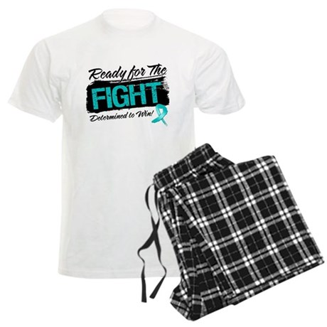 Ready Fight Ovarian Cancer Men's Light Pajamas