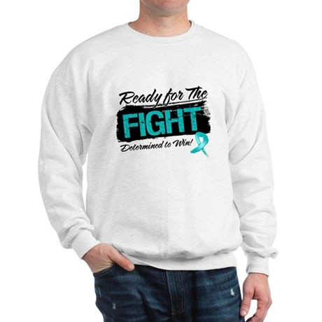 Ready Fight Ovarian Cancer Sweatshirt