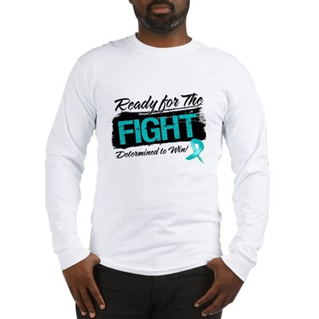 Ready Fight Ovarian Cancer Long Sleeve T-Shirt