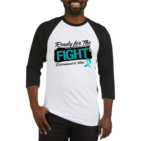 Ready Fight Ovarian Cancer Baseball Jersey