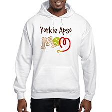 Yorkie Apso Dog Mom Hoodie