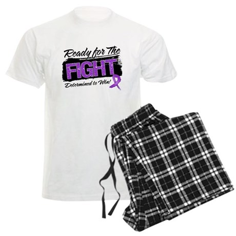 Ready Fight Pancreatic Cancer Men's Light Pajamas