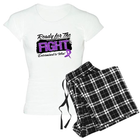 Ready Fight Pancreatic Cancer Women's Light Pajama