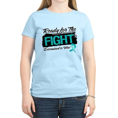 Ready Fight Peritoneal Cancer Women's Light T-Shir