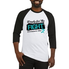 Ready Fight Peritoneal Cancer Baseball Jersey
