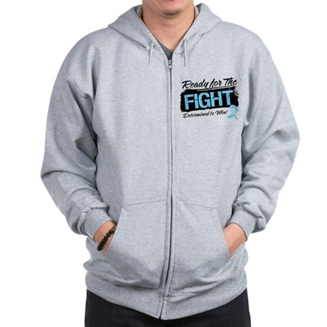 Ready Fight Prostate Cancer Zip Hoodie