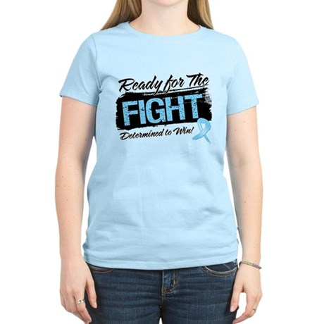 Ready Fight Prostate Cancer Women's Light T-Shirt