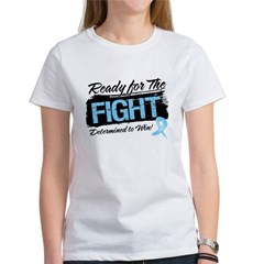 Ready Fight Prostate Cancer Women's T-Shirt